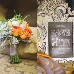 Capitol Inspiration: Coffee Wedding Details & Decoration Ideas