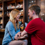 Rachel & Alex's Washington DC Engagement Pictures at Boundary Stone Public House