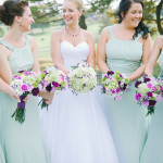 Heather & Jeremy's Springtime, Mint Green Wedding in Maryland