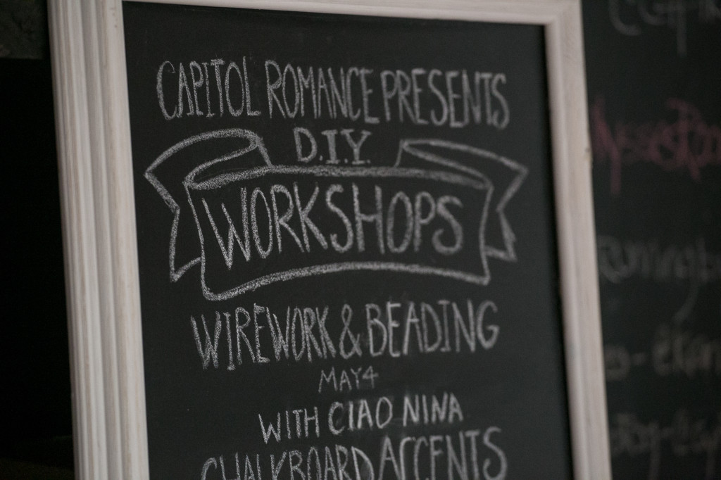 DIY wedding workshops washington dc weddings
