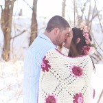 Melodie & Jared's Sweet, Styled Snowy Engagement Pictures & Love Story