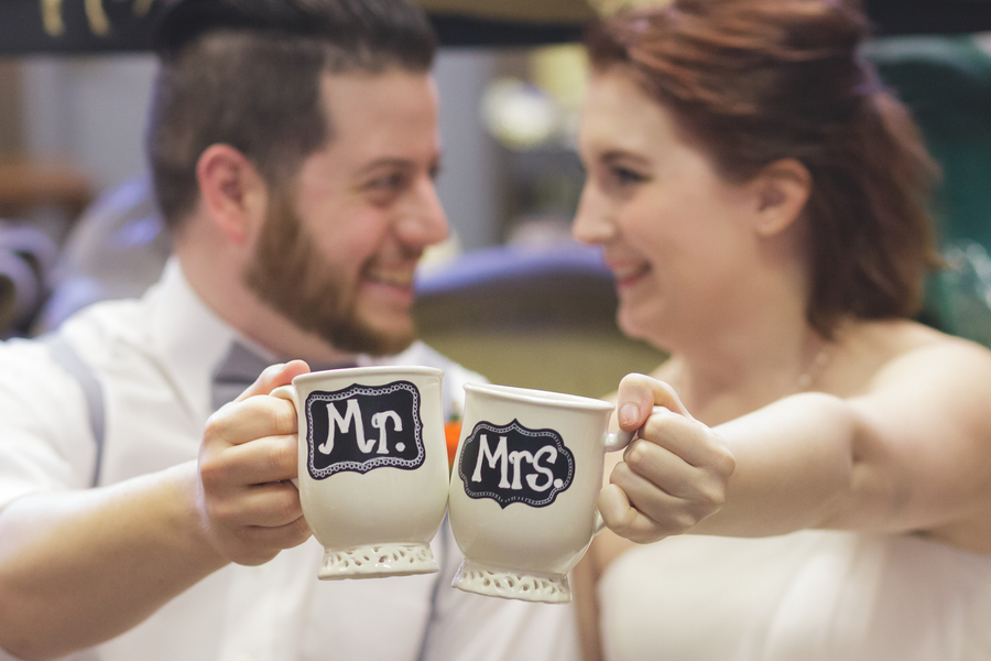 coffee wedding details ideas