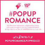 Introducing #PopUpRomance ~ A Vow Renewal Giveaway & Collaborative Art Event