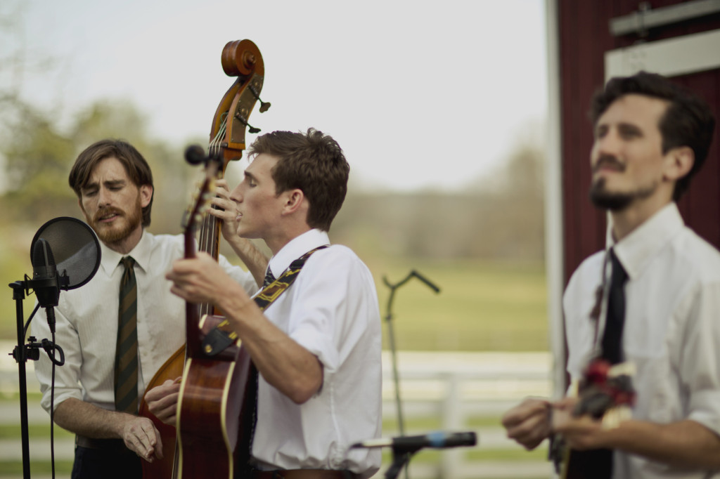 bluegrass swing wedding band