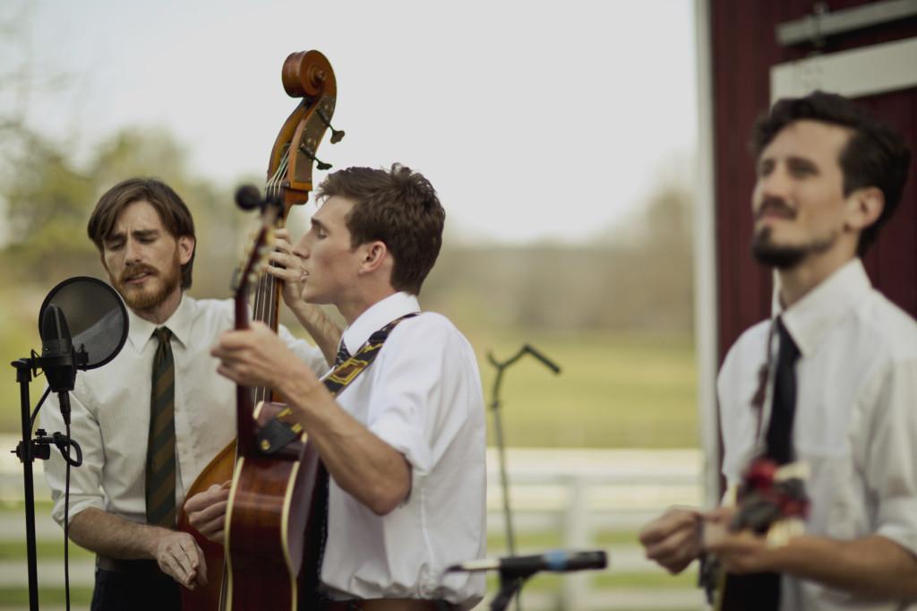bluegrass swing wedding band