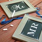 DIY Wedding Workshop ~ How to Make Perfect Chalkboard Wedding Signs