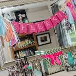 DIY Tutorial: How to Make a DIY Tissue Paper Tassel Garland Sign