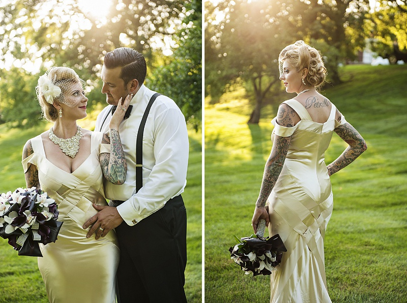 vintage hollywood inspired wedding (3)