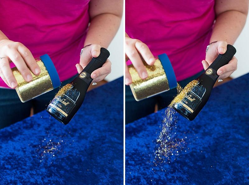 DIY glitter champagne favors (2)