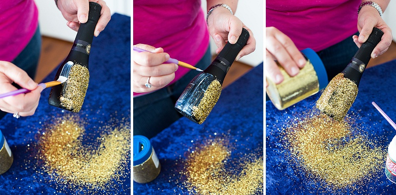 DIY glitter champagne favors (3)