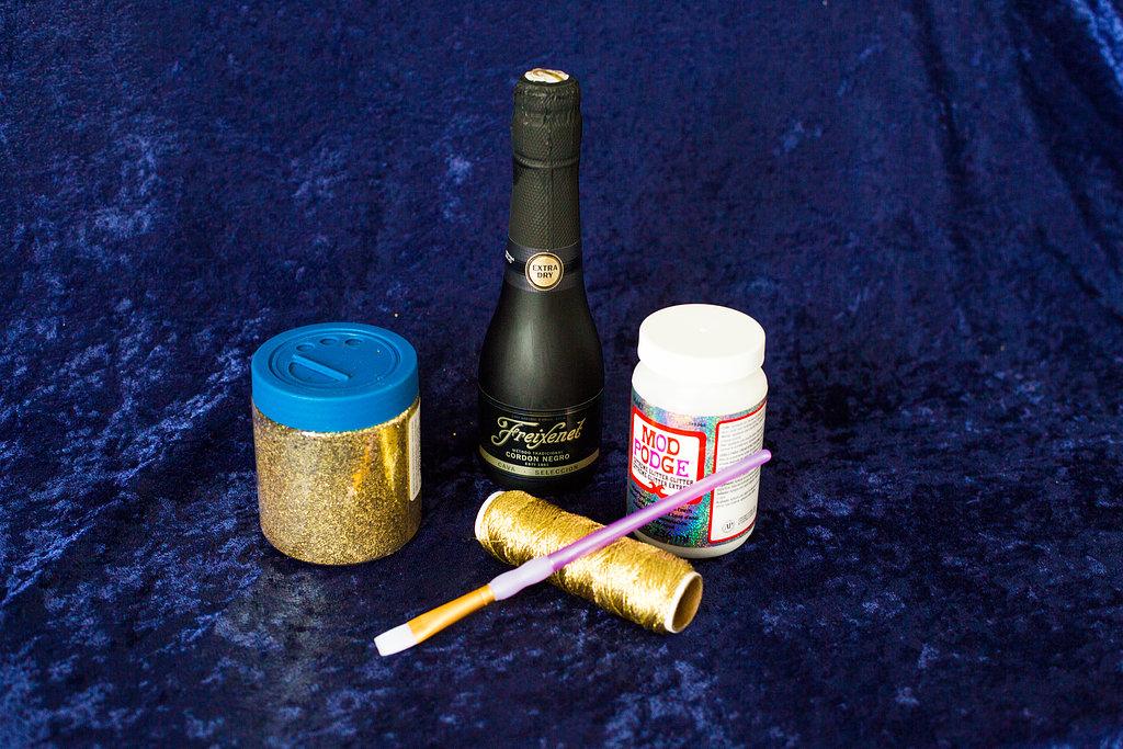 DIY glitter champagne favors (5)