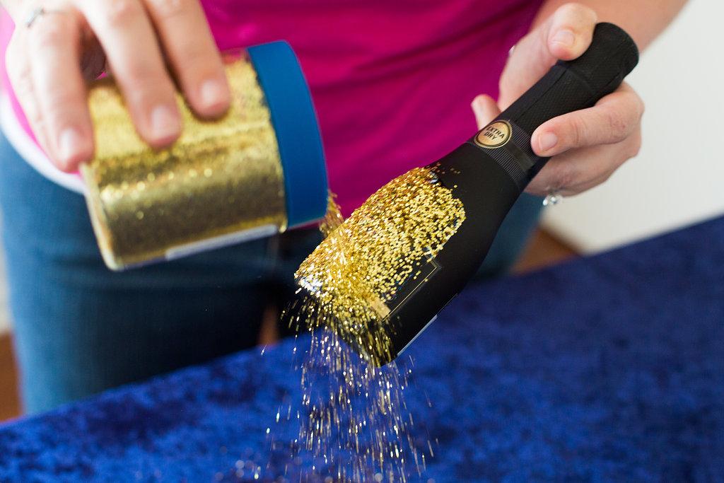 DIY glitter champagne favors (6)