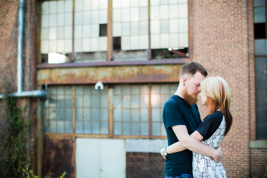alternative grunge Maryland graffiti engagement pictures (2)