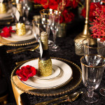 Capitol Inspiration: Glitter & Gold, Romantic Speakeasy Themed Wedding