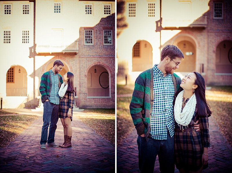 hipster virginia engagement pictures fall (1)
