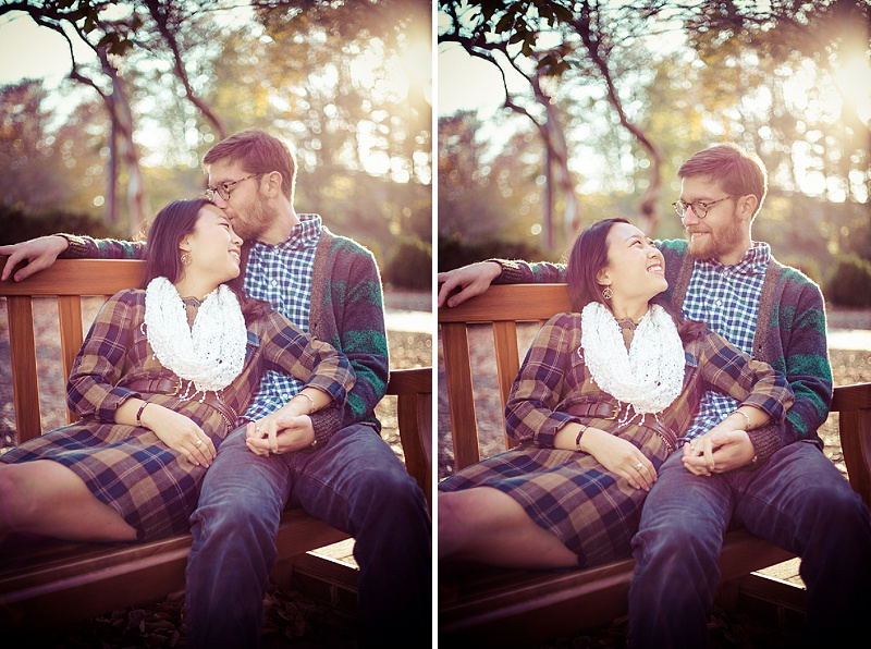 hipster virginia engagement pictures fall (2)