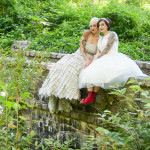 Capitol Inspiration: Offbeat & Modern Tattooed Brides ~ Dresses, Hair & Makeup