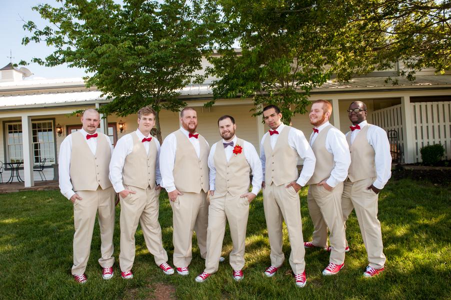 rustic DIY red white blue Virginia wedding (11)