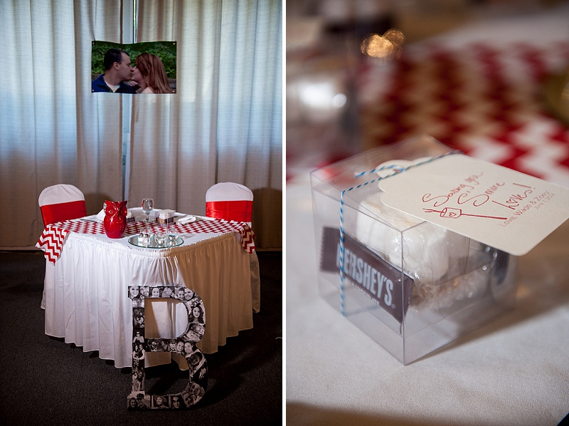 rustic DIY red white blue Virginia wedding (14)