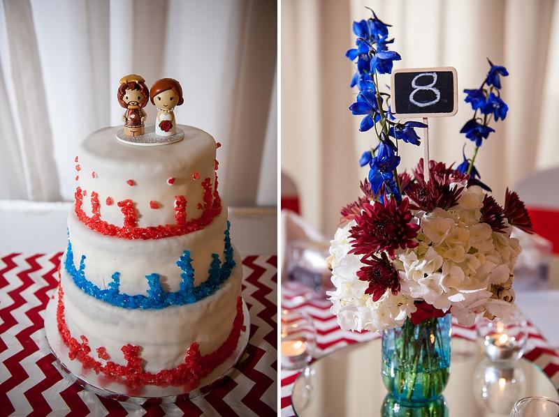rustic DIY red white blue Virginia wedding (15)