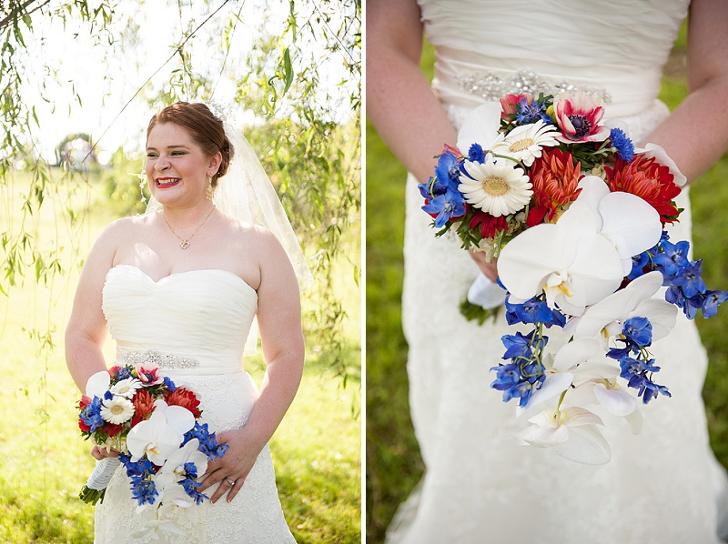 rustic DIY red white blue Virginia wedding (17)