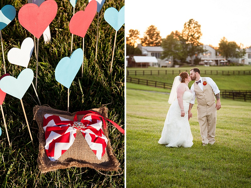 rustic DIY red white blue Virginia wedding (18)