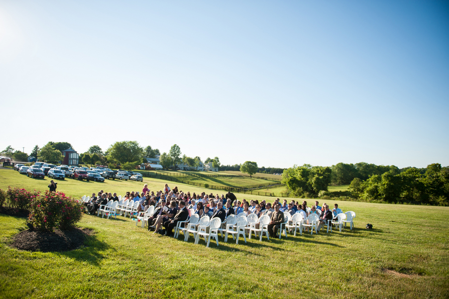 rustic DIY red white blue Virginia wedding (19)