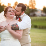 Zoey & Wade's Rustic, DIY Red, White, & Blue Wedding in Virginia