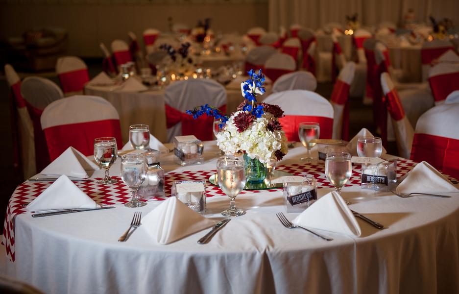 rustic DIY red white blue Virginia wedding (6)