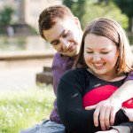 Allie & Dylan's DC Engagement Pictures at Tryst and Meridian Hill Park