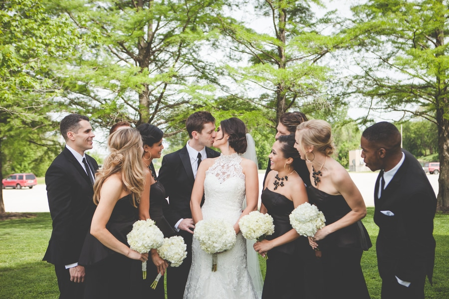 black white wedding theme pictures ideas (5)