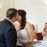 Melissa & Telly's Intimate MD Courthouse Wedding & Charthouse Reception
