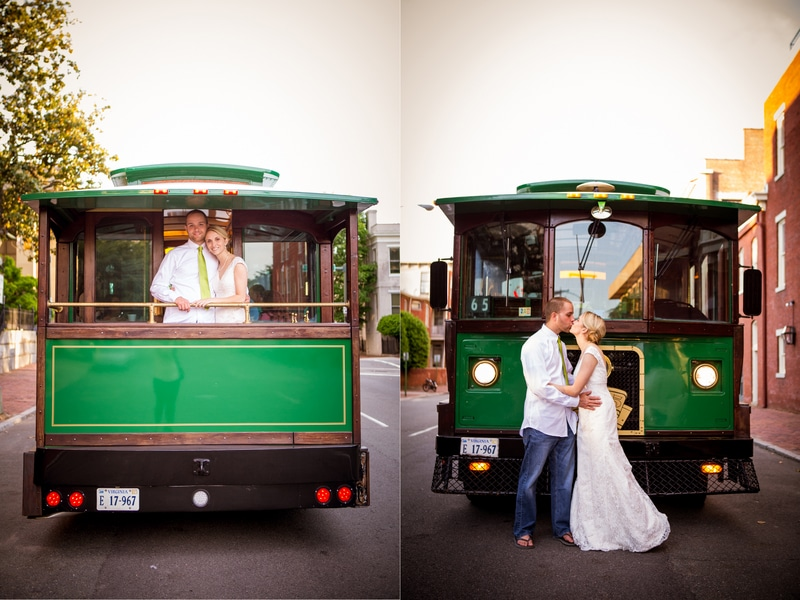simple modern green Virginia Inn wedding (13)
