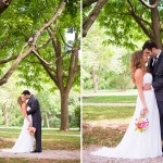 Sara & Mayan's Simple Summer Garden Wedding at Antrim 1844 in Maryland
