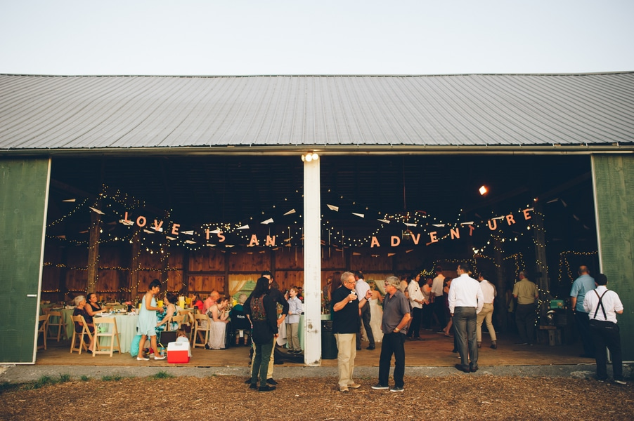 thrift store travel themed barn wedding virginia pictures (16)