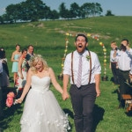 Abby & Logan's Thrifted, DIY Cloverdale Barn Wedding in Virginia