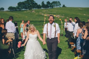 thrift store travel themed barn wedding virginia pictures (5)