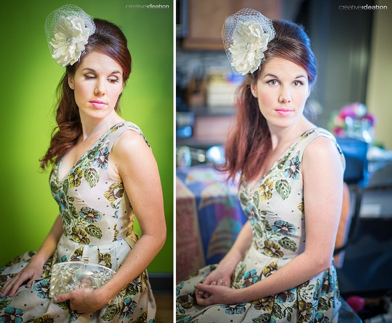 vintage bridesmaid makeup hair inspiration (1)