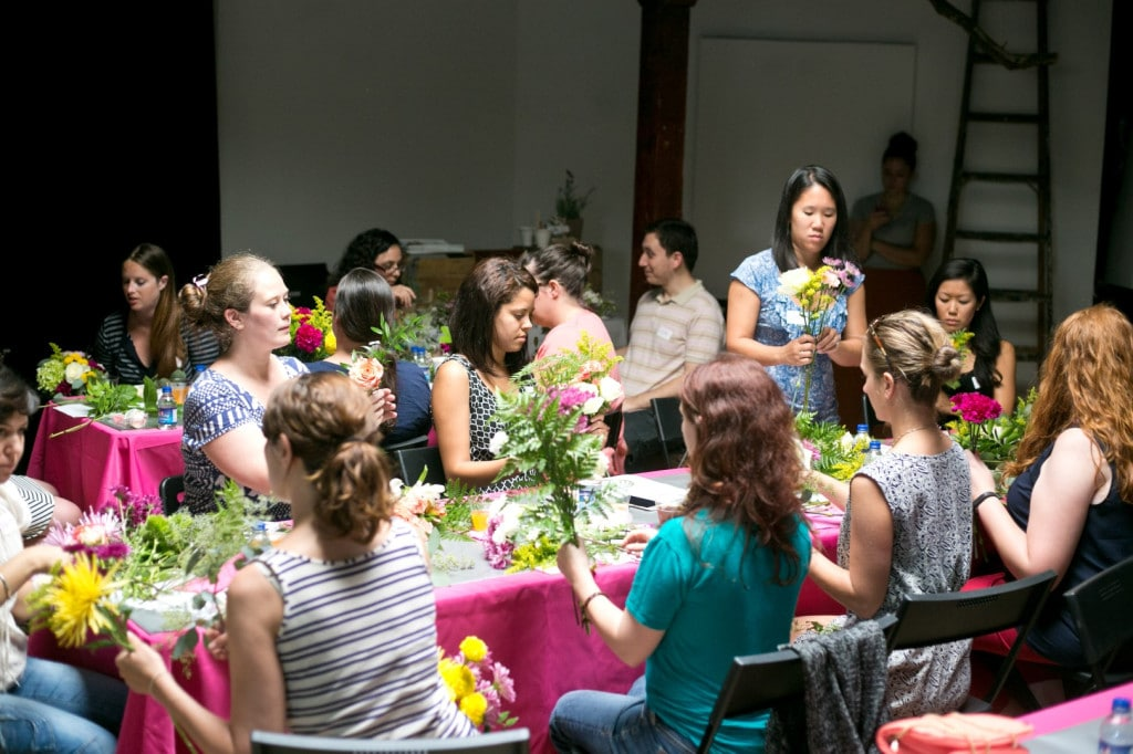 DIY bouquets and boutonniers workshop (1)