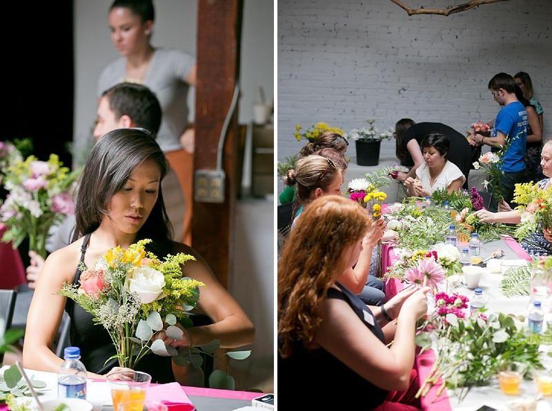 DIY bouquets and boutonniers workshop (13)