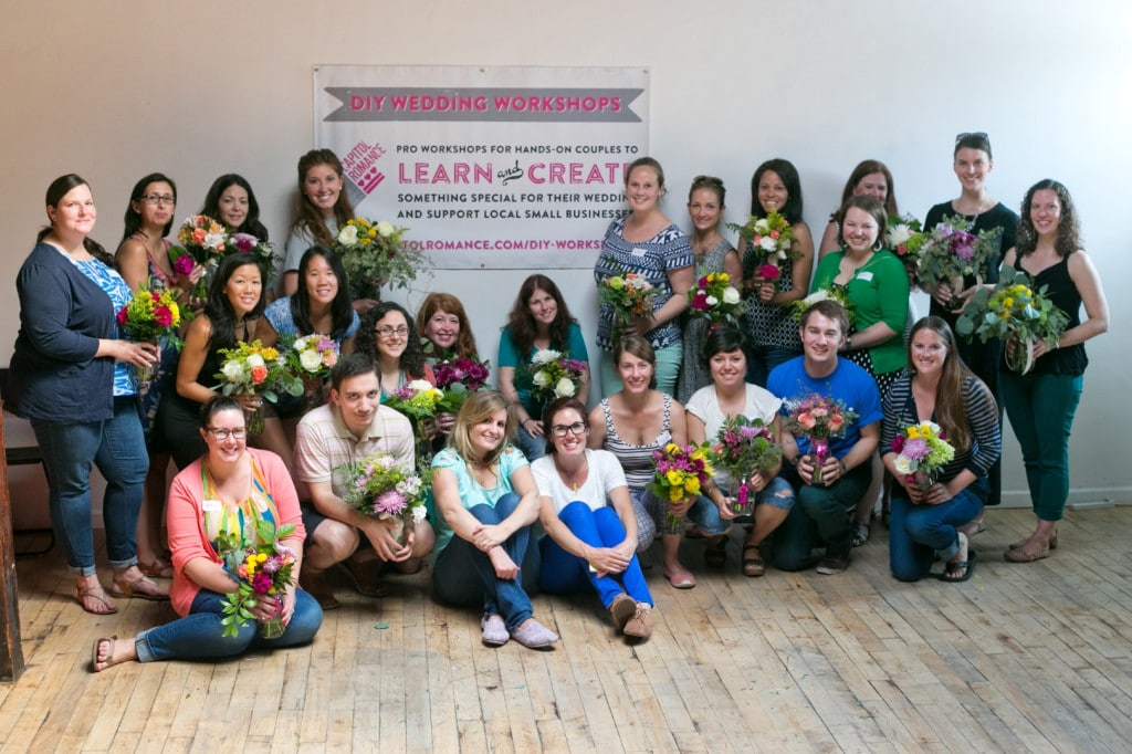 DIY bouquets and boutonnieres workshop (9)