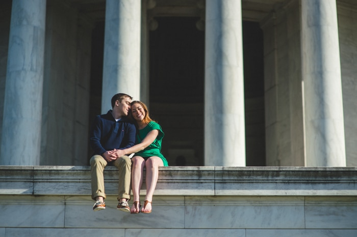 dc cherry blossom engagement pictures (1)