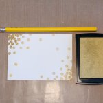 DIY Tutorial: How to Make DIY Fancy Notecards with Erasers