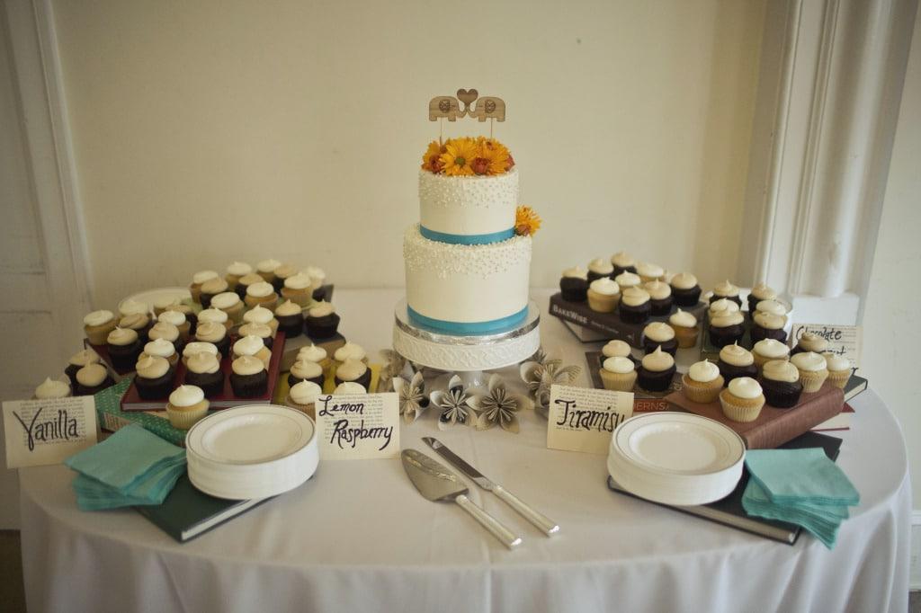 ultimate DIY book themed Maryland wedding (28)