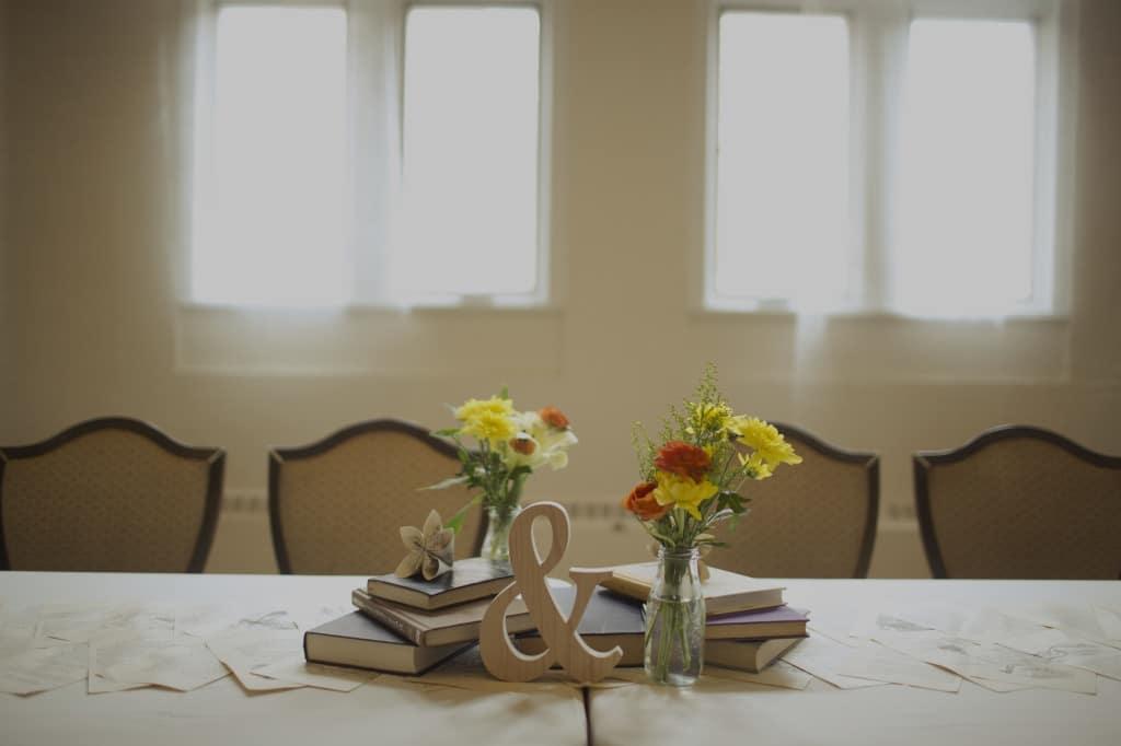 ultimate DIY book themed Maryland wedding (5)