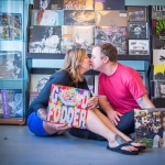 Baltimore Record Store Engagement Pictures & Friday Link Love