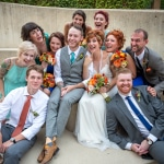 Andrea & Nate's Colorful, Offbeat Maryland Wedding at American Visionary Arts Museum