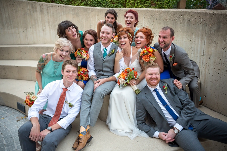 offbeat alternative maryland wedding pictures american visionary arts museum (8)