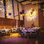 Emily & Tim's Yellow & Purple, Super Fun Artisphere Wedding