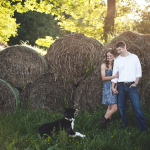 Meg & Trey's Virginia Farm Engagement Pictures